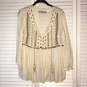 Abercrombie & Fitch Bohemian Style Top